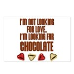 Looking for Chocolate Postcards (Package of 8)