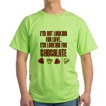 Looking for Chocolate Green T-Shirt