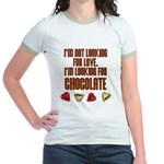 Looking for Chocolate Jr. Ringer T-Shirt