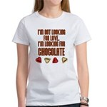 Looking for Chocolate Women's T-Shirt