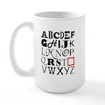 Missing U Large Mug