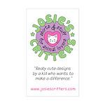 Josie's Critters Logo Sticker