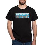 Shark and Remora Dark T-Shirt