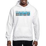 Shark and Remora Hooded Sweatshirt