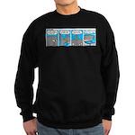 Shark and Remora Sweatshirt (dark)