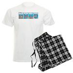 Shark and Remora Men's Light Pajamas