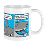 Shark and Remora Mug