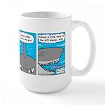 Shark and Remora Large Mug