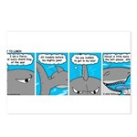 Shark and Remora Postcards (Package of 8)