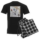 Wheeler Sportsplex Men's Dark Pajamas