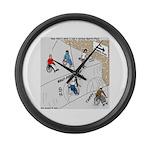 Wheeler Sportsplex Large Wall Clock