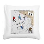 Wheeler Sportsplex Square Canvas Pillow