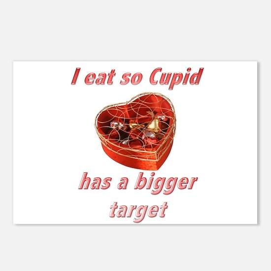 Cupid's Target Postcards (Package of 8)