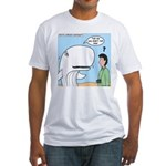 Whaling Wall Fitted T-Shirt