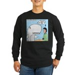 Whaling Wall Long Sleeve Dark T-Shirt