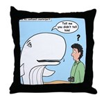 Whaling Wall Throw Pillow