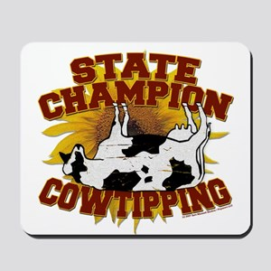 Cow Tipping Mousepad