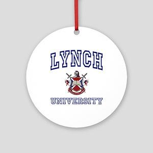 LYNCH University Ornament (Round)