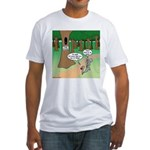 Forest Time Share Fitted T-Shirt