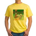 Forest Time Share Yellow T-Shirt