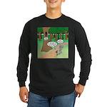 Forest Time Share Long Sleeve Dark T-Shirt