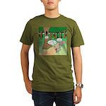 Forest Time Share Organic Men's T-Shirt (dark)