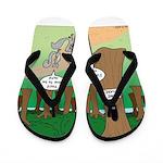 Forest Time Share Flip Flops