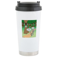 Forest Time Share Stainless Steel Travel Mug
