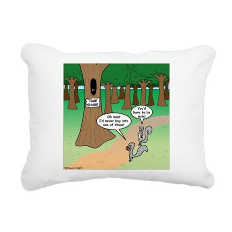 Forest Time Share Rectangular Canvas Pillow
