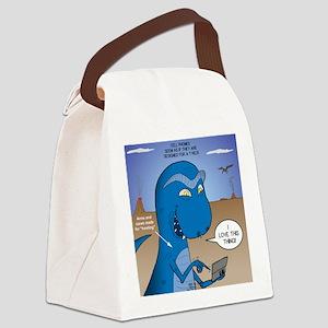 T-Rex Mobile Canvas Lunch Bag