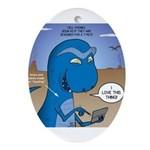 T-Rex Mobile Ornament (Oval)