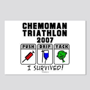 2007 Chemoman Triathlon Postcards (Package of 8)