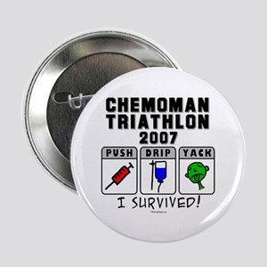 2007 Chemoman Triathlon Button