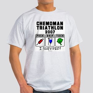 2007 Chemoman Triathlon Ash Grey T-Shirt
