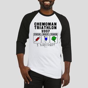 2007 Chemoman Triathlon Baseball Jersey