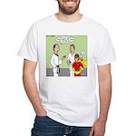 Karate Side Kick White T-Shirt