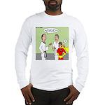 Karate Side Kick Long Sleeve T-Shirt