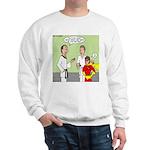 Karate Side Kick Sweatshirt