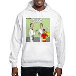 Karate Side Kick Hooded Sweatshirt