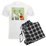 Karate Side Kick Men's Light Pajamas