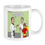 Karate Side Kick Mug