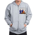 Death Row Tech Support Zip Hoodie