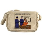 Death Row Tech Support Messenger Bag