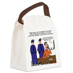 Death Row Tech Support Canvas Lunch Bag
