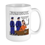 Death Row Tech Support Large Mug