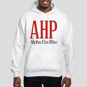 Alpha Eta Rho Letters Hooded Sweatshirt