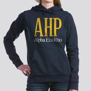 Alpha Eta Rho Letters Women's Hooded Sweatshirt