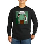 Super Hotel Long Sleeve Dark T-Shirt