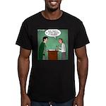 Super Hotel Men's Fitted T-Shirt (dark)