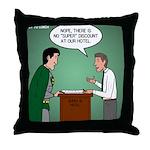 Super Hotel Throw Pillow